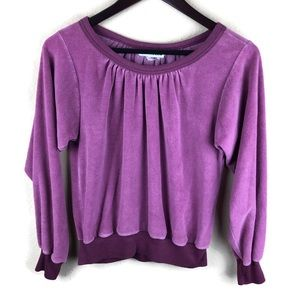 Quote Me Womens Sweater, Purple